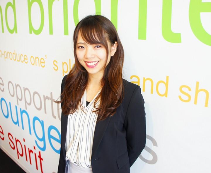 2017入社(5年目/人事 兼 SV) I.Natsuki
