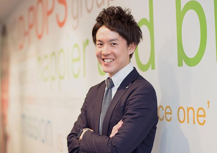 2014入社 (8年目/統括部長 兼 DGA学長)H.Yuta