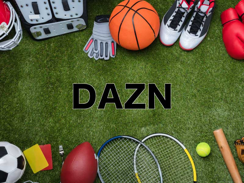VOD(動画配信サービス) 比較 DAZN(ダゾーン)