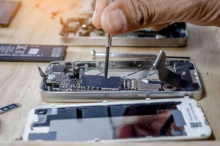 iPhone 画面割れ 修理方法