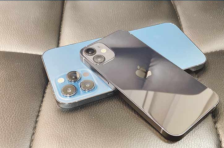 iPhone 12 mini 形状