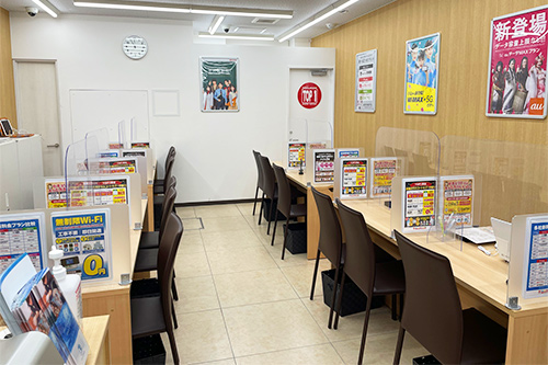 TOP1船橋 スマホ/携帯ショップ カウンター