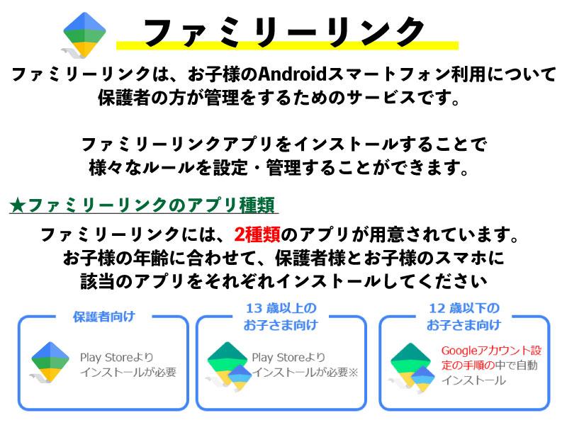 ファミリーリンク Android 設定