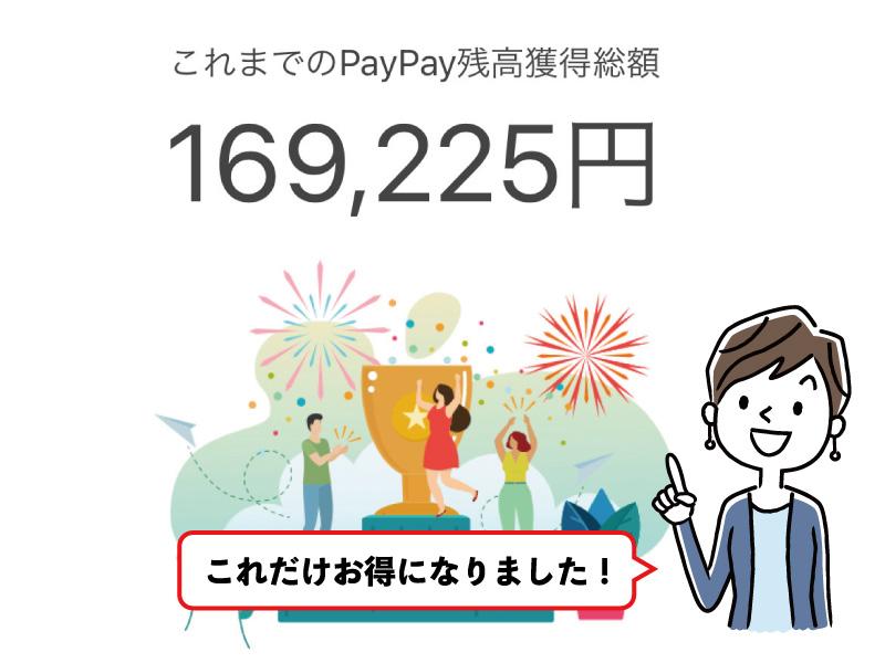 PayPay お得額
