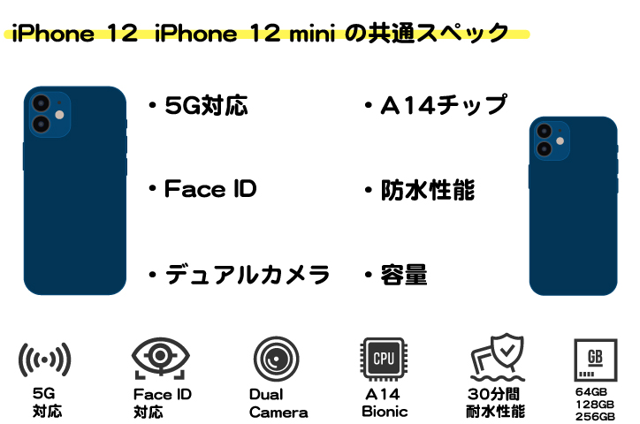 ワイモバイル iPhone 12 iPhone 12 mini
